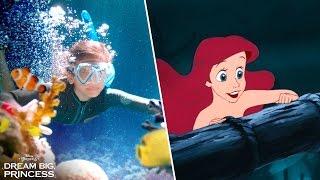 Dream Big, Princess – Side-by-Side Ariel   Disney Channel