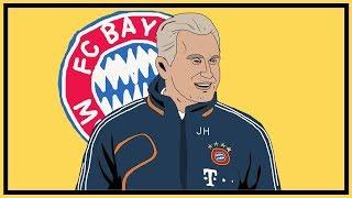 Tactics Explained   Bayern Munich & Jupp Heynckes' Treble