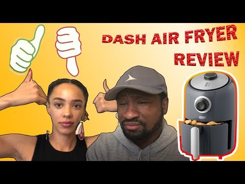 DASH COMPACT AIR FRYER 1.2 QUART REVIEW (TASTE TEST!!)