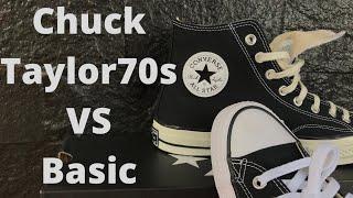 Perbedaan Sepatu Converse Chuck Taylor 70s Dan Basic