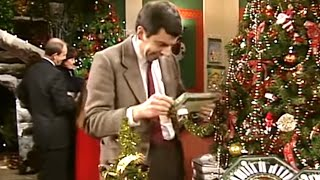 Christmas Shopping   Funny Clip   Classic Mr Bean