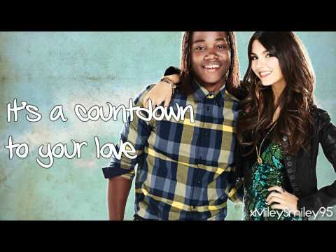 Victorious Cast ft. Leon Thomas III & Victoria Justice - Countdown (with lyrics)