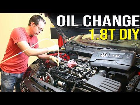 1.8T Oil Change DIY   Extractor vs Drain Method