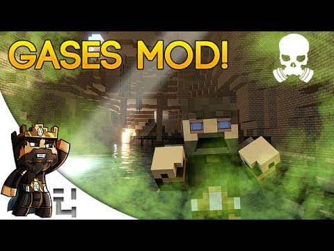 Minecraft Mods - Gases Mod [Flammable, Electric, and Explosive!]