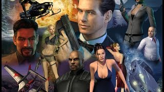 James Bond 007 Full Game Movies All Cutscenes (The Complete Series)