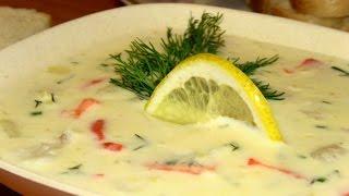Рыбный суп с плавленным сыром / Сырные рецепты