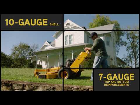 2019 Cub Cadet PRO HW 54 in. Kawasaki FS600V Series 18.5 hp in Sturgeon Bay, Wisconsin - Video 1
