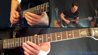 Hail To The King (Intro) Guitar Lesson - Avenged Sevenfold - Famous Riffs