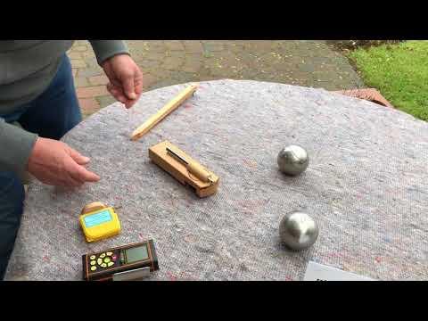 Boules Boule Boccia Petanque laserrangefinder lasermeter