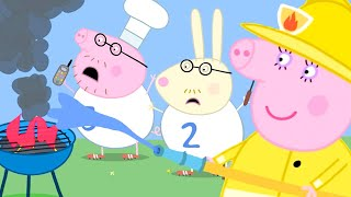 Peppa Pig Official Channel | Mummy Pig Puts Out Daddy Pig's BBQ Fire