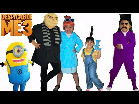 f69188b50bc66 Despicable Me 3 Halloween Costumes and Toys