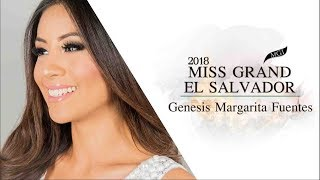 Genesis Fuentes Miss Grand El Salvador 2018 Introduction Video