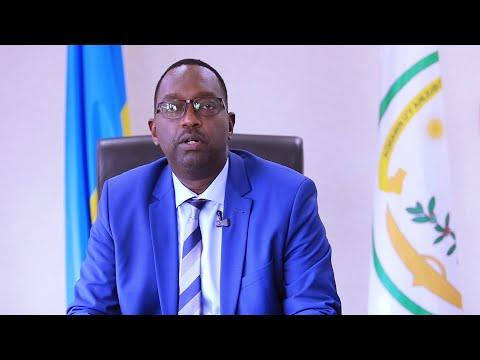 Dr Daniel Ngamije, Minister of Health Rwanda at the Global Launch of UNFPA Supplies Partnership