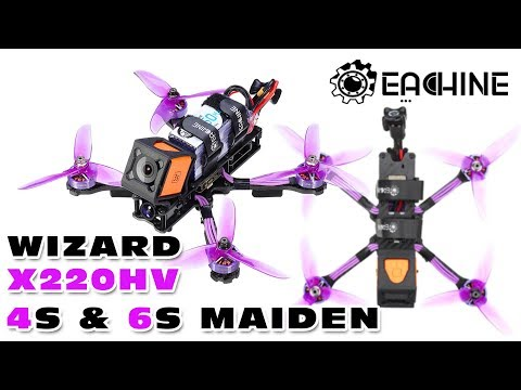 LOS flight report of the Eachine Wizard X220HV :)