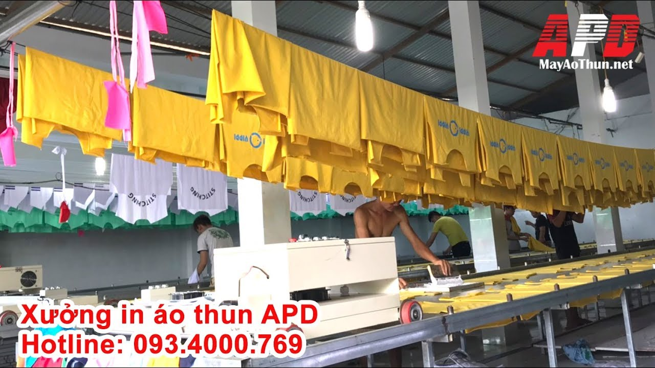 Xưởng in áo thun APD
