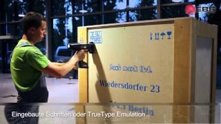 HANDJET EBS-260 - verbesserter, ultra mobiler Ink Jet Handdrucker - ver. DE
