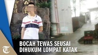 Dihukum Lakukan Lompat Katak, Bocah di Cina Meninggal seusai Lakukan Hukuman