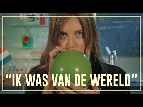Nellie inhales laughing gas (nitrous oxide) | Drugslab