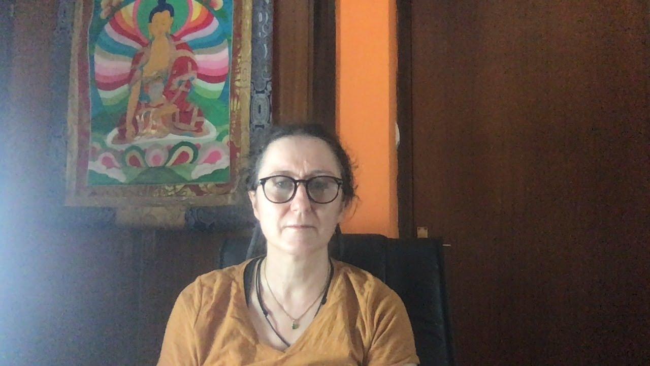 Lama Gangchen Tantric Self-Healing 2- Commentary by Lama Caroline - part 73 (EN)