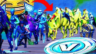 Stream Sniping Fortnite Fashion Shows with a Banana Army...