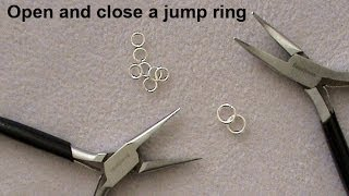 How To: Open and Close a Jump Ring