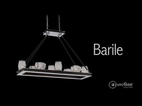Video for Barile Chrome 10-Light Chandelier