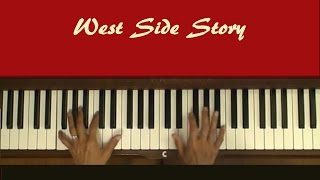Maria West Side Story Piano Tutorial