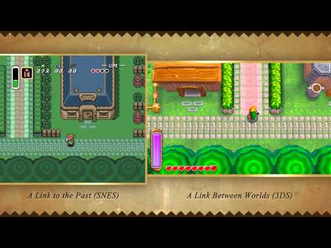 Let's Compare The New Zelda To Its 22-Year-Old Ancestor