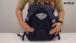 """Ранец школьный Kite Сollege line K18-580S-2 от компании Интернет-магазин """"Радуга"""" - школьные рюкзаки, канцтовары, творчество - видео"""