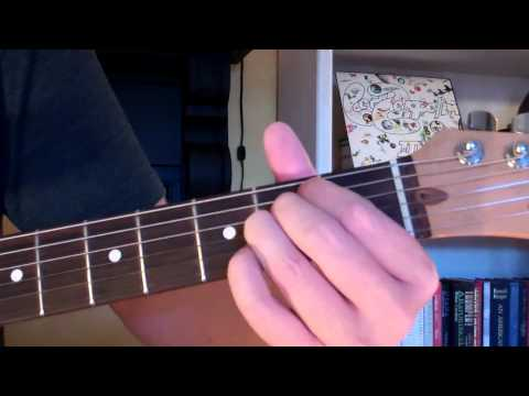 How To Play the B7sus4 Chord On Guitar (B seventh suspended fourth)