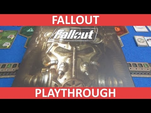 Fallout Board Game - Playthrough - slickerdrips