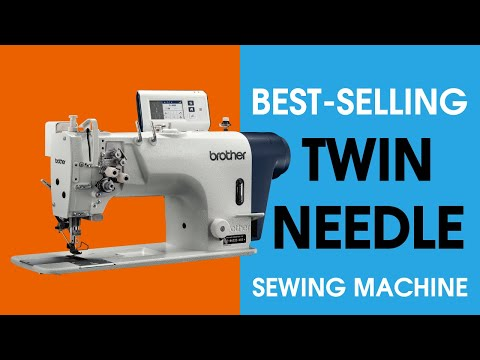 Twin needle locktitch sewing machine T-8421D