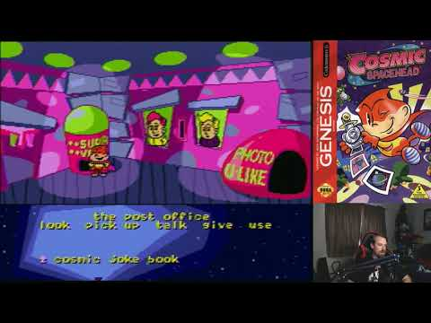 Juegos a Oscuras Episode 1: Got Games OKC, Cosmic Spacehead Sega Genesis