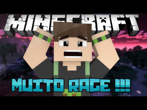MINECRAFT: MUITO RAGE!!!-DONT STOP SPRINTING MAP