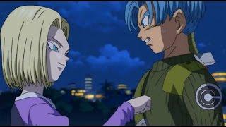 Trunks  - (Dragon Ball) - Future Trunks Meets Android 18   Dragon Ball Super   Episode 53   English Sub   HD