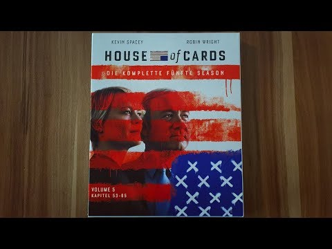 HOUSE OF CARDS - STAFFEL 5 - Blu-ray Unboxing [UHD]