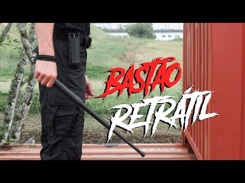 Bastão Retrátil Bélica Militar