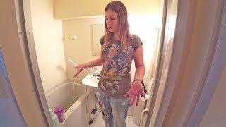 Квартиры в Японии. В унитазе моют руки| Киото| Япония| Серия 15