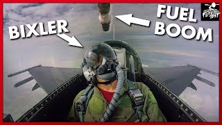F-16 AIR-TO-AIR REFUELING RIDE-ALONG | FLITE TEST