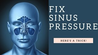 How To RELIEVE Sinus Pressure & Unblock A Clogged Stuffy Nose Fast (Home Remedy Demo)