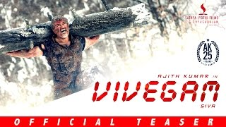 Vivegam - Official Teaser