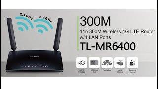 Tp-Link MR-6400 Test