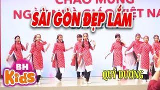 Nhảy Sài Gòn Đẹp Lắm ♫ Quý Dương | Nhạc Thiếu Nhi Sôi Động
