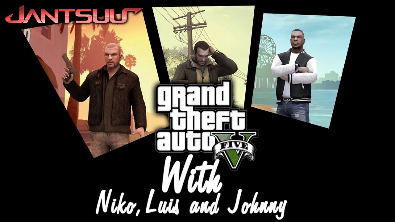 Grand Theft Auto V's Trailer Gets Remade With Some More Familiar Characters
