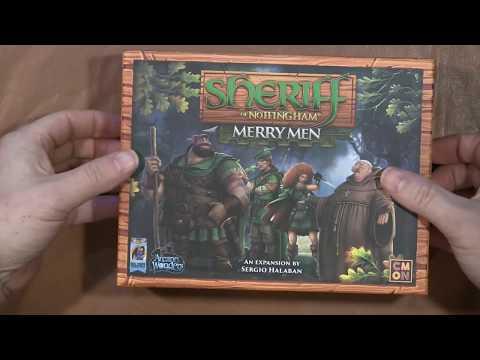 Box Breaking 235 Sheriff of Nottngham Merry Men