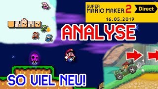So Vieles Ist Neu! ANALYSE + Spekulationen Zur Super Mario Maker 2 Direct