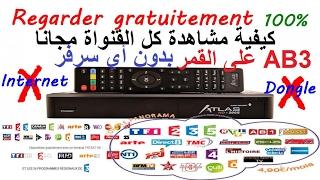 Crisotr Atlas HD 200/100 Chaines Biss Et TNT Et Autres 100% Gratuit
