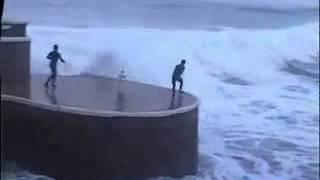 Развлечение на больших волнах
