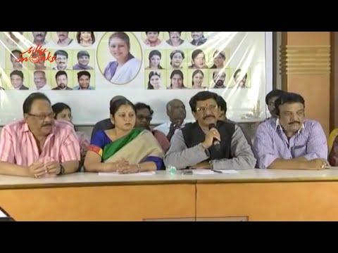 Jayasudha Panel Press Meet - MAA 2015 Elections