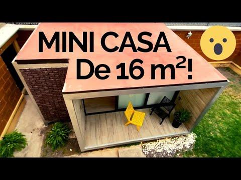 ¿Vivirías En Una Casa De 16m²?